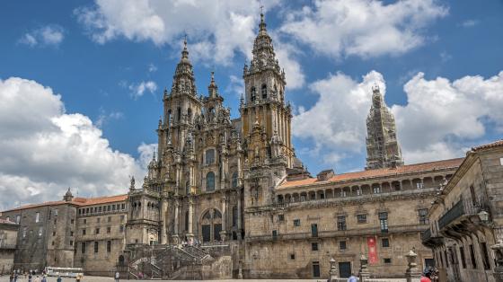 Cathedral of Santiago de Compostela , Spain.