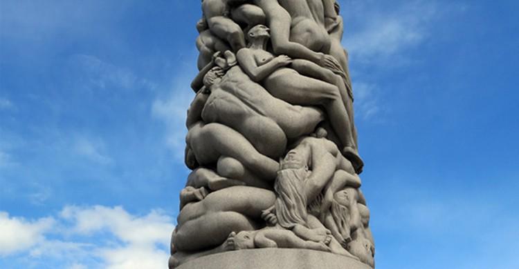Orgie au Parc Frogner, Oslo, Norvège