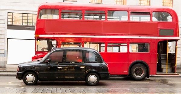 car & bus -londres