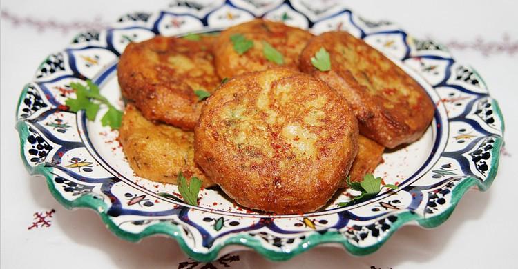 Beignets de pomme de terre, Maroc -Culinaire Amoula Flickr