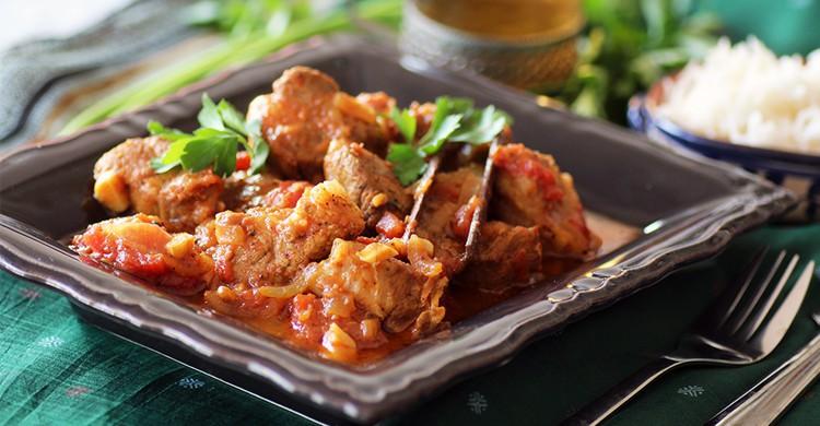 Vindaloo de porc - Inde