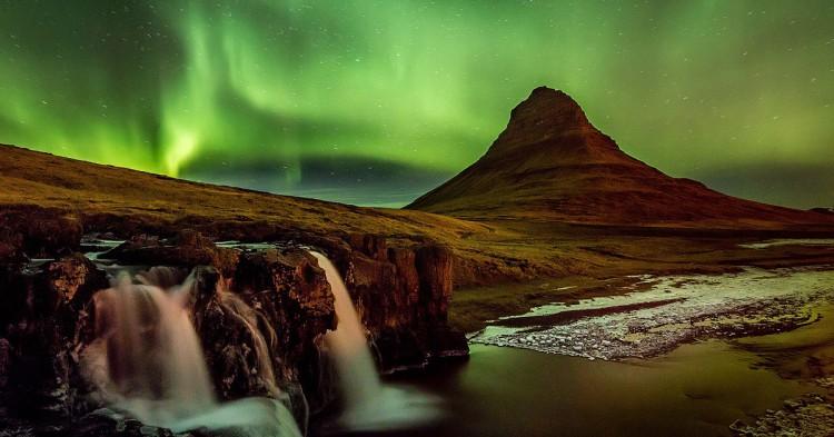 Aurores boréales, Islande - Google
