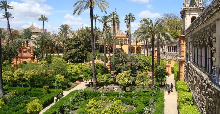 Alcazar de Séville, Espagne - Flickr