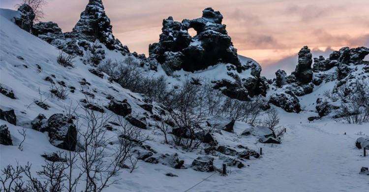 Dimmuborgir, Islande - Flickr