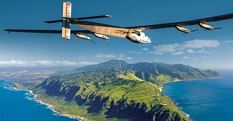 Vol de solar impulse