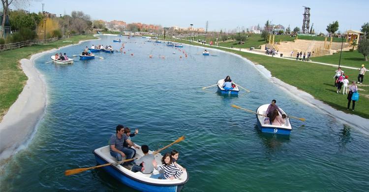 Canoë Parque Europa - sosunny
