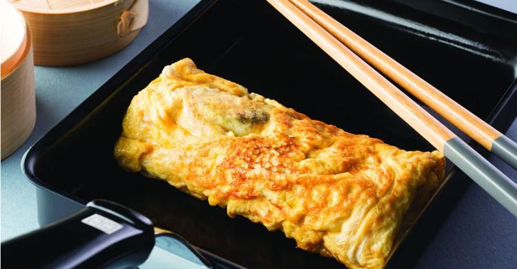 Omelette au crabe et mirin - femmeactuelle