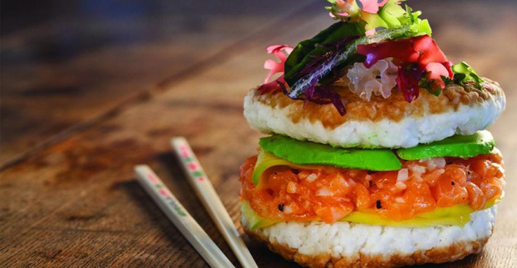 Sushi Burger - Meltyfood