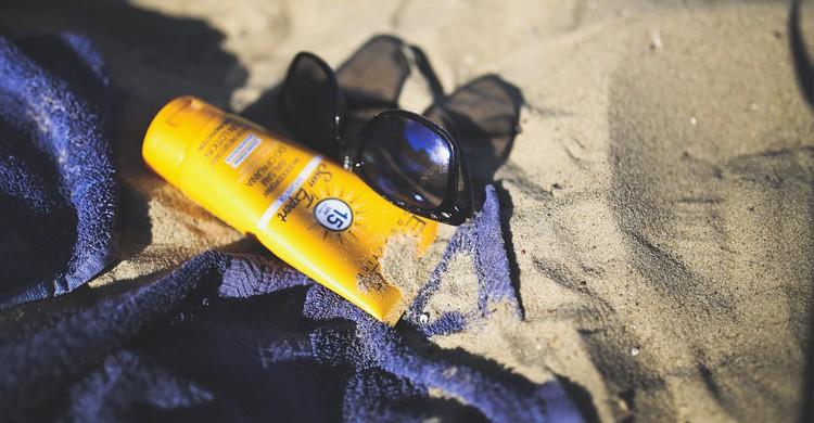 Crème solaire - pixabay
