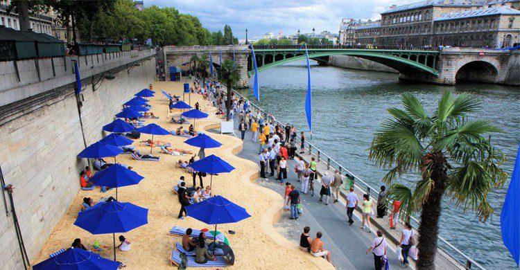Paris Plages - leblogdejocelyne.blogspot.com