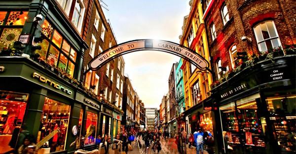 Carnaby street -Londres