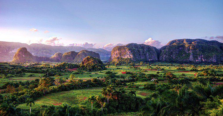 Vue sur un paysage cubain montagneux (Istock)