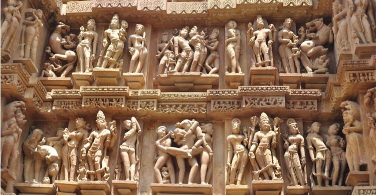 Temples du Kamasutra, Inde
