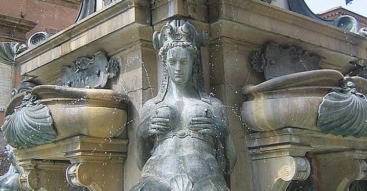 Les nymphes de la fontaine de Neptune, Bologne