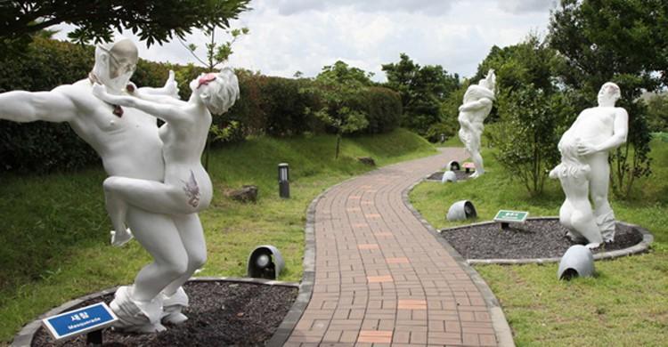 Parc de l'amour, Jeju Love Land, Corée du Sud