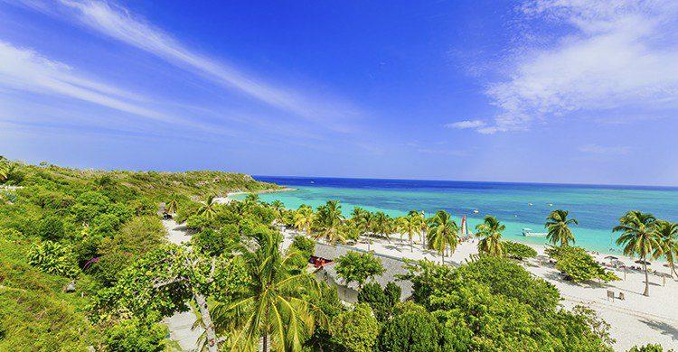 Vue sur une plage paradisiaque de Cuba (Istock)