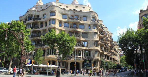 Barcelona - la casa Batllo