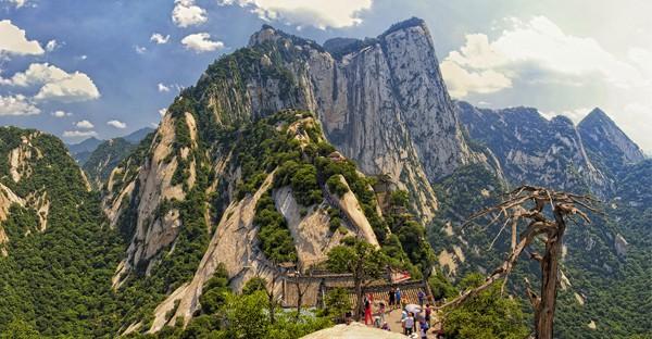 Mount Huashan Plank - Chine