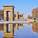Comme un air dEgypte  Madrid Temple de Debod unehellip