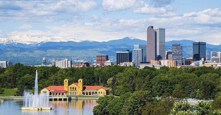 Vue sur la ville de Denver (Istock)