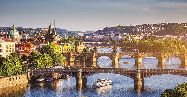 Vue sur Prague, capitale de la République Tchèque (Istock)