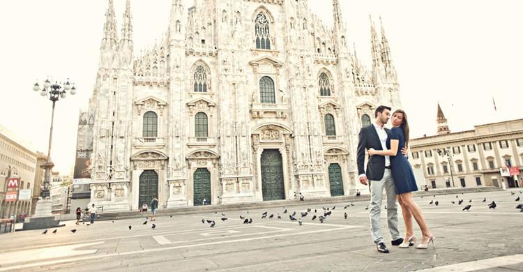 Couple franco Italien