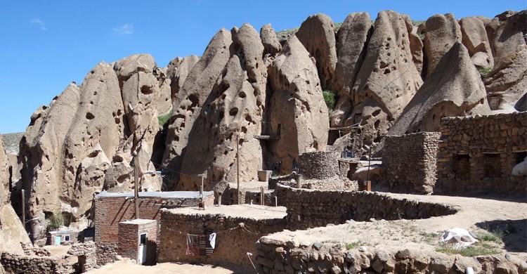 Village de Kandovan, Iran - Flickr