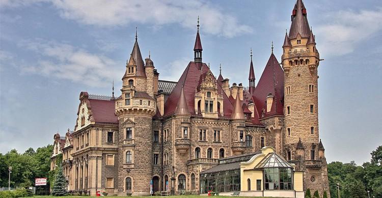 Le château Moszna, Pologne - Flickr