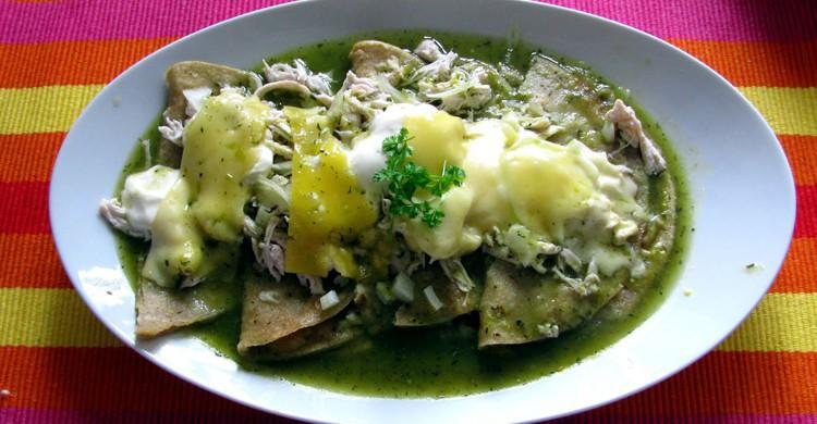 enchiladas, Mexique
