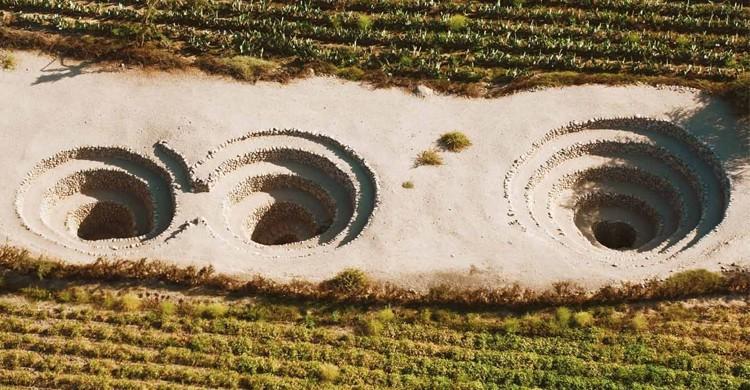 Puquios de Nazca
