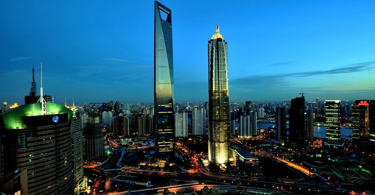 Shanghai World Financial Centre - voyages-chine