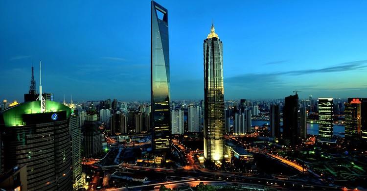 Shanghai World Financial Centre - voyages-chine