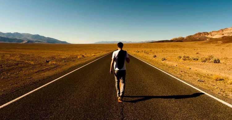 Voyage à pied