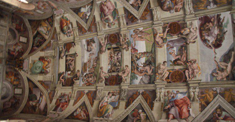 La Chapelle Sixtine, Michel Ange (Flickr)