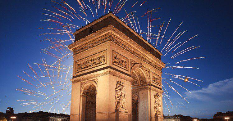 Arc de triomphe à Paris - jeremyreds