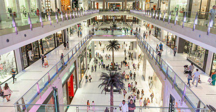 dubai mall - teampaillettes
