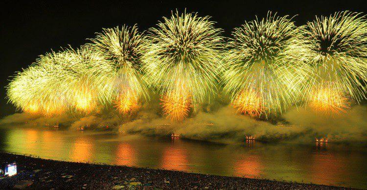 Nouvel an sur la plage de Copacabana - wenht
