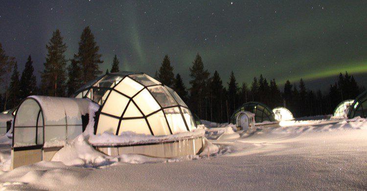 Contrairement aux idées reçues, il peut faire bon dans un igloo, la température pouvant aller jusqu'à 15°C.