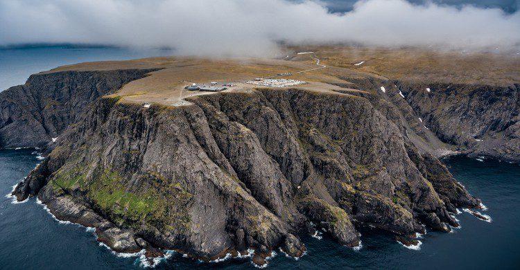Vue sur le Cap Nord