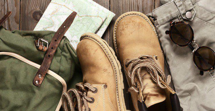 Anciennes chaussures de marche (Istock)