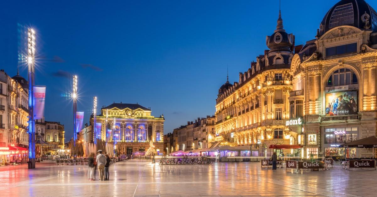 Montpellier Jeune et dynamique, Montpellier a beaucoup à offrir à ses heureux visiteurs entre une architecture impressionnante datant du 17ème et 18ème siècle et des sites immanquables tels que l'Opéra, la Place de la Comédie, le quartier de l'Écusson ou encore le Jardin des Plantes. La vie nocturne y est à la hauteur de sa réputation, alors attention aux excès !