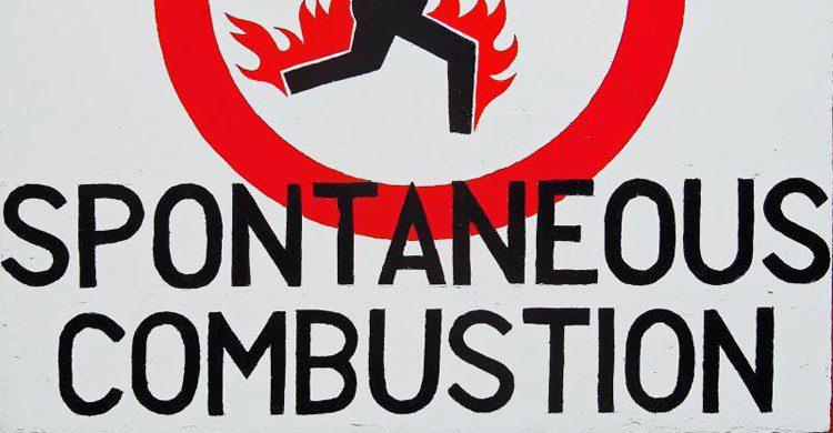 Combustion spontanée (Flickr)