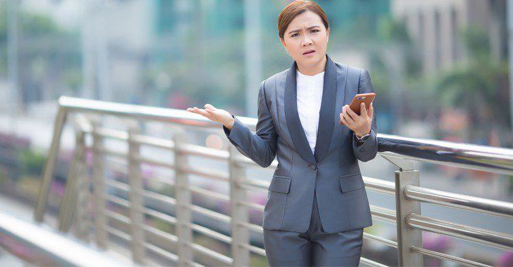 Japonaise ne supportant pas le brouhaha (istock)