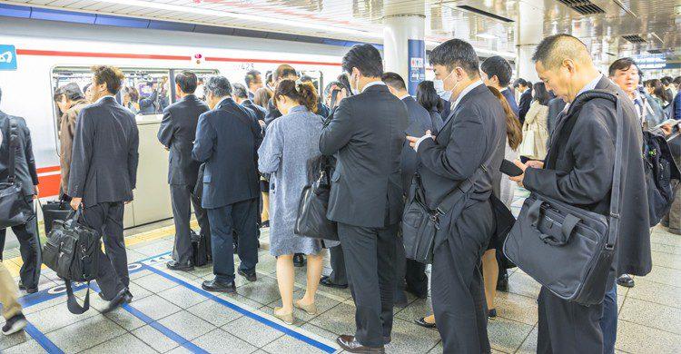 Métro Japon (istock)