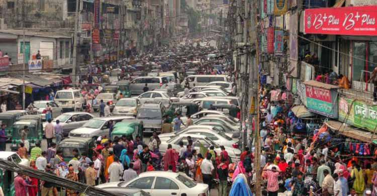 Rues de Bangladesh (Flickr)