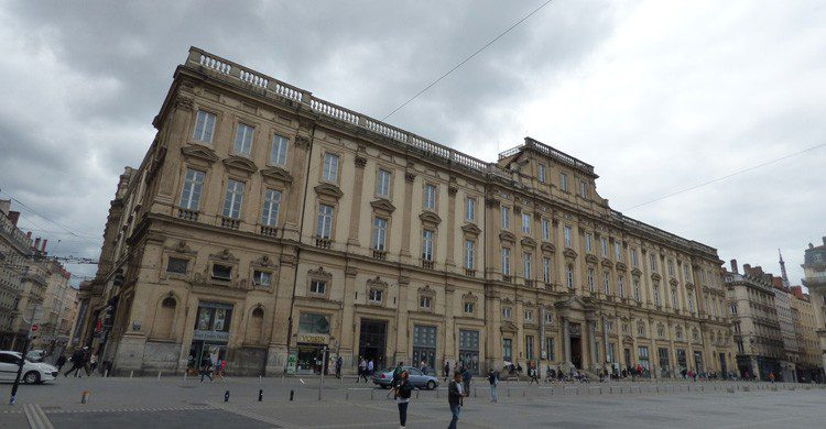 Musée des Beaux Arts, Place des Terreaux, Lyon (Flickr)