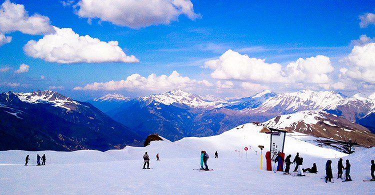 Vacances au ski (Flickr)