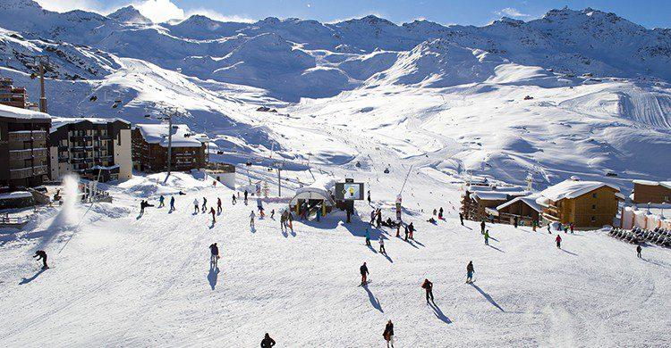 Ski au Alpes (Pixabay)