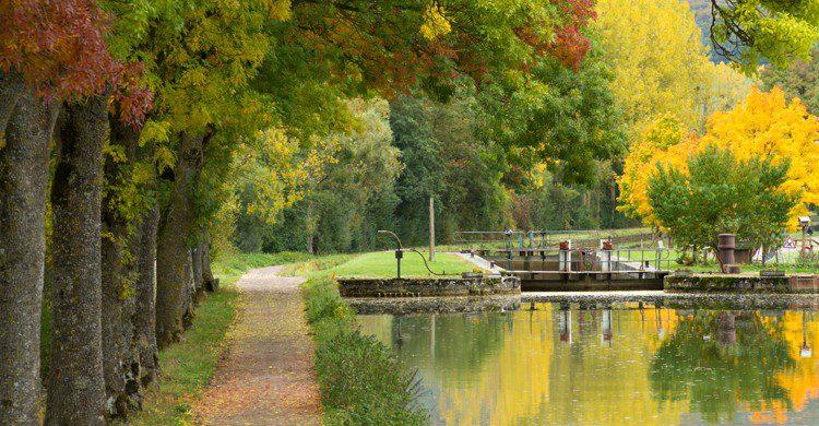 Canal de Bourgogne (Istock)