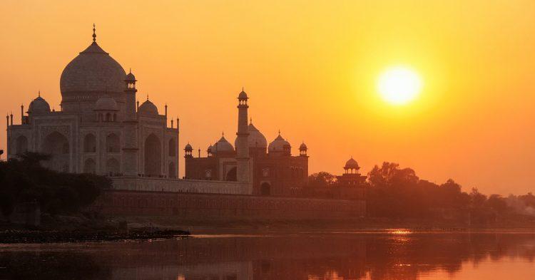 Couche du Soleil au Tah Mahal, Inde (Istock)